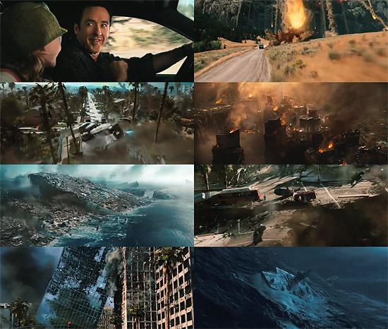 【3DCG】 こりゃ生き抜けられんわ。全部が見所!『2012』のトレーラー