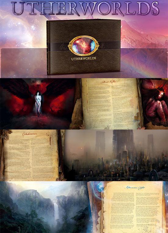 【2DCG】 グラフィックノベル『Utherworlds』Ballistic Mediaよりリリース予定