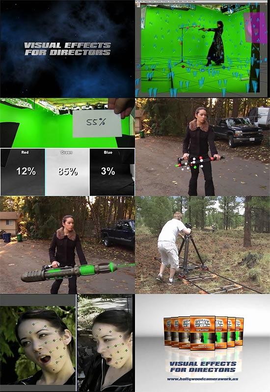 【3DCG】 VFXのチュートリアルDVDセット『Visual Effects For Directors』