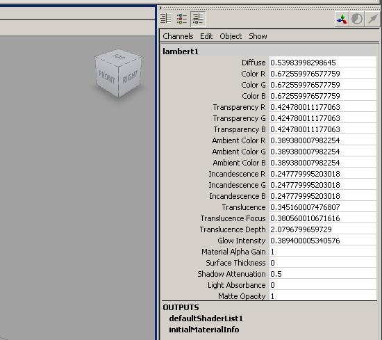 【その他】 Maya Tips チャンネルボックスの表示小数点桁数をカスタマイズする方法