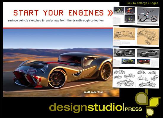 車デザインの洋書『Start Your Engines』の内容をチラ見