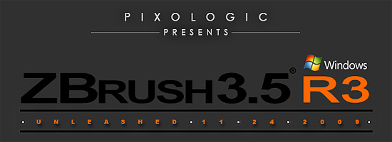 【3DCG】 R2出たばっかなのに早くも『Zbrush3.5 R3』リリース!TBS 3DCGアニメ『TO』等
