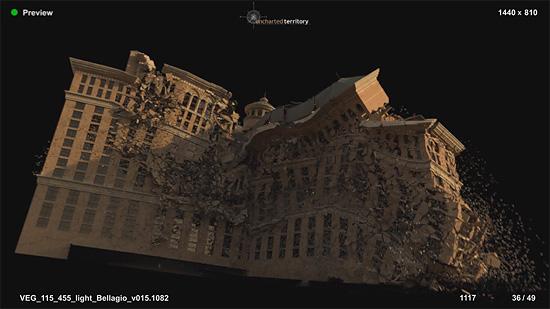 【3DCG】 映画『2012』崩壊シーケンスのメイキング映像