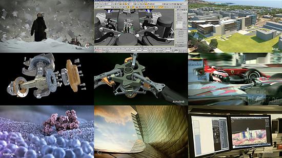【3DCG】 AutodeskのShowreel 2010