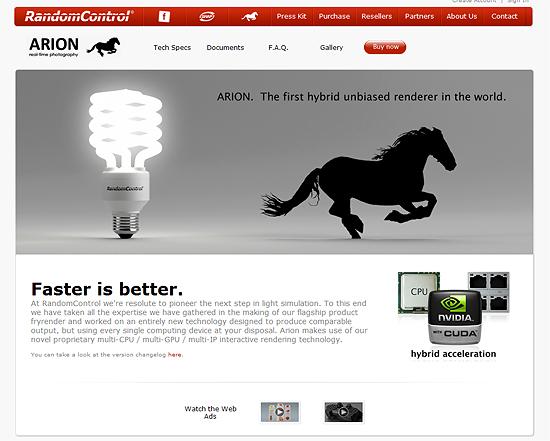 【3DCG】 超速!ハイクオリティー!RandomControl社がレンダラー『Arion(アリオン)』を発表