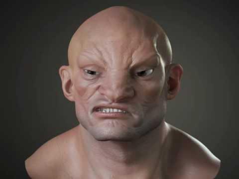Akuma Facial animation