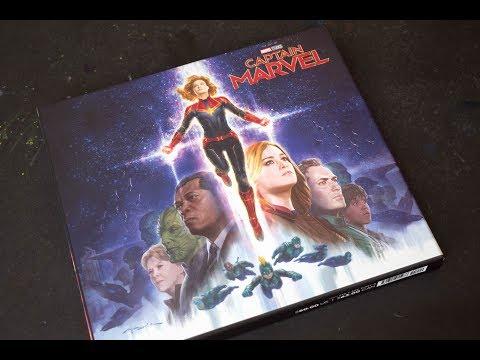 (book flip) Captain Marvel: The Art of the Movie