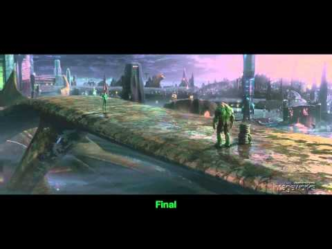 Green Lantern- Creating Planet Oa