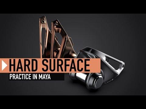 Hard Surface Practice // Creating Assets in Maya