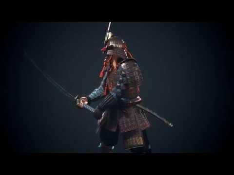 Game Character Art (real-time) - Samurai
