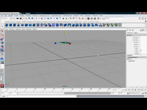 Maya tank treads tutoral