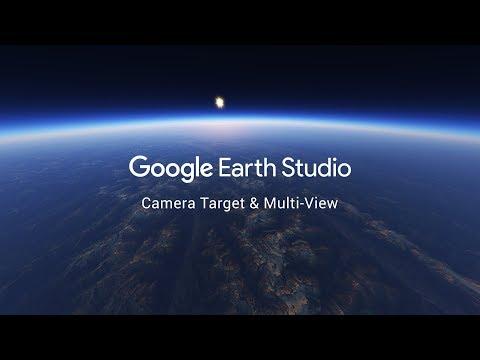 Google Earth Studio - Camera Target & Multi-View