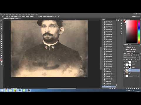 OLD PHOTO RESTORATION - Restoración de fotografía antigua