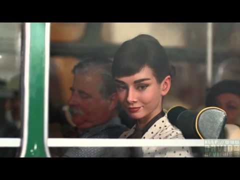 """Audrey Hepburn """"Alive Again"""" For a Chocolat Comercial! HD"""