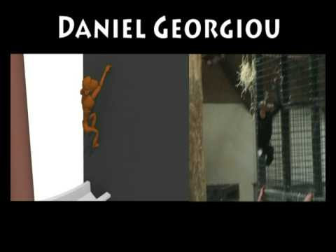 Motion Reference - Chimpanzee Animation