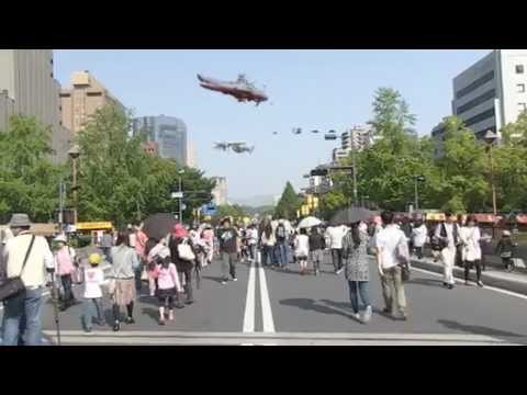 [実写合成]フラワーフェスティバルに行こう!~広島ふれあい街歩き2