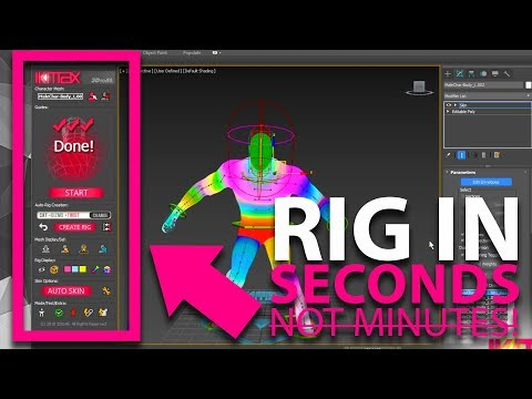 IKMAX - 3D Rig in seconds!