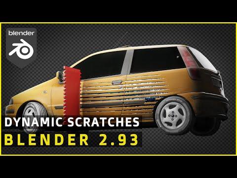Scratch Car Paint Off | Blender Dynamics Tutorial