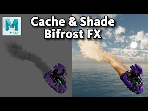 Caching and Rendering a Bifrost effect (ver. 1.9.5.3)