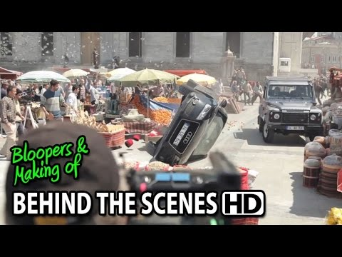 Skyfall (2012) Making of & Behind the Scenes (Part1/2)