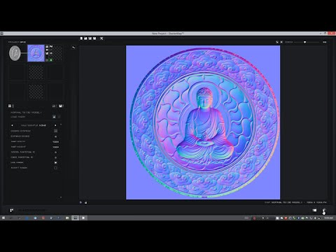 Baking Maps from 3D Models with ShaderMap 3