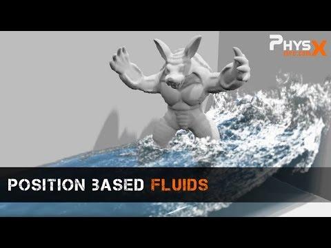 Position Based Fluids Demonstration
