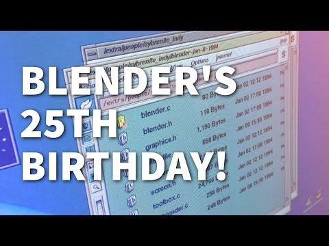 Blender's 25th Birthday!