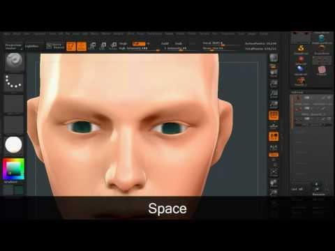 Zbrush Polypaint - Image Based Color Palette