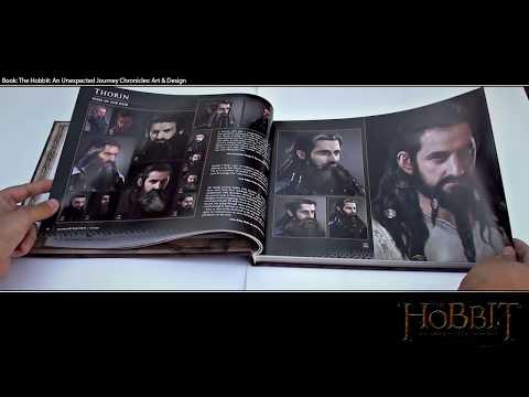 Artbook The Hobbit An Unexpected Journey Chronicles: Art & Design