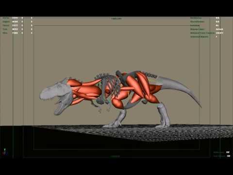 T-Rex. Making of
