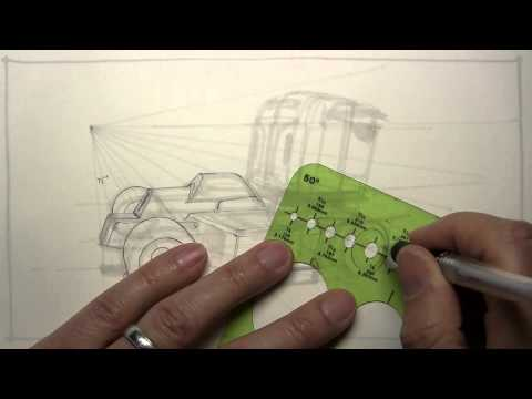 drawing an imaginary sci-fi semi truck