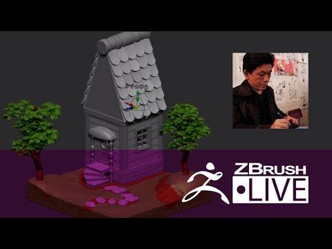 Fukui Nobuaki - ZBrushCore 超入門講座 出張LIVE - Fukui Nobuaki - Episode 2 (In Japanese)