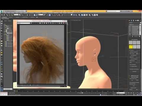 Hair in V-Ray RT GPU