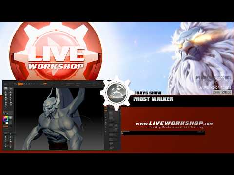 Nightstalker: Frost walker- Zbrush [Part1]
