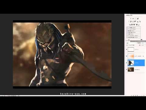 Elder Predator - Speed Painting - Kazuhiro Oya