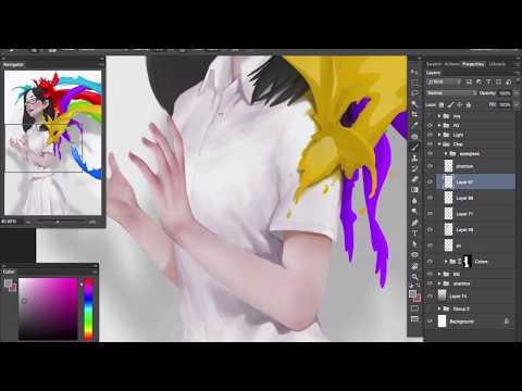 Colors Splash [Digital Painting]