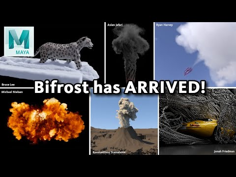 What is Bifrost? A primer on Maya's newest big feature! (ver. 1.9.5.3)