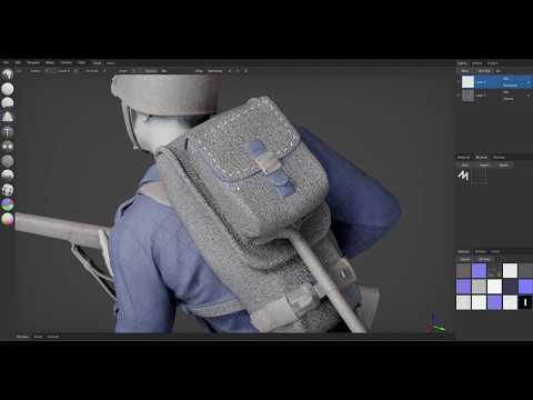 Directional Brush | ArmorPaint