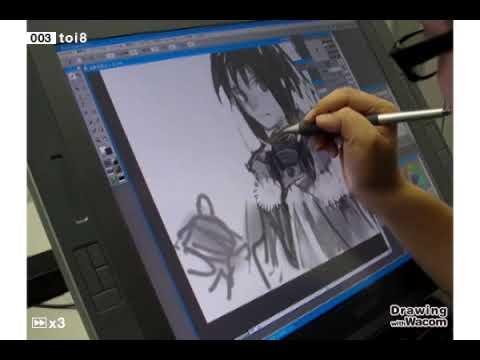 イラストレーター toi8 - Drawing with Wacom (DwW)
