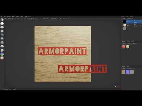Text Tool | ArmorPaint