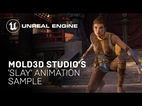 Mold3D Studio's 'Slay' Animation Sample Project   Unreal Engine