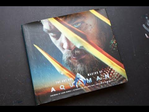 (book flip) The Art and Making of Aquaman