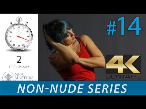Art Model Images - Figure Drawing Reference Images (NON-NUDE SERIES DLDS #14) in 4K