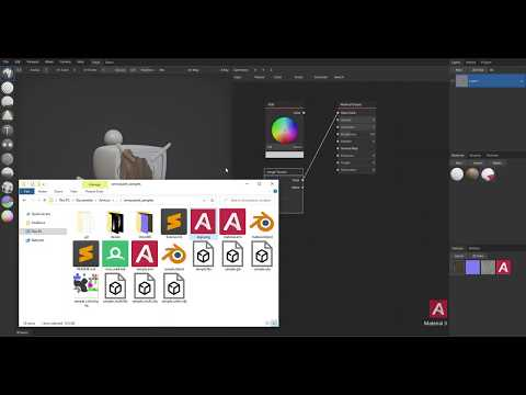 Import Mesh and Textures | ArmorPaint
