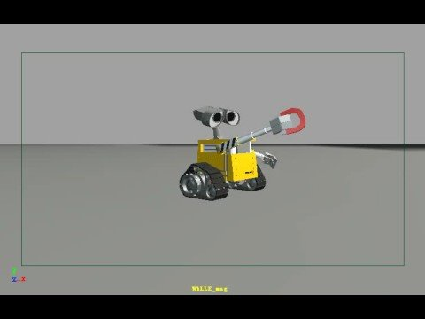 wall e and magnet(personal practice)