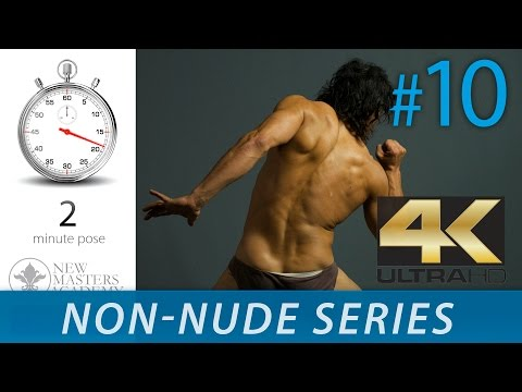 Human Body Figure Reference - Figure Drawing Reference Images (NON-NUDE SERIES DLDS #10) in 4K