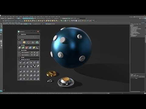 Script - ModIt 2.0 Hard Surface Modeling ToolKit for Maya - New Features