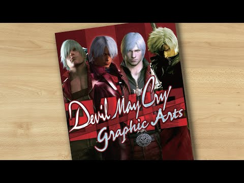Devil May Cry: 3142 Graphic Arts (book flip)