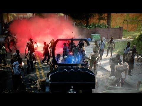 Overkill's The Walking Dead E3 2018 Gameplay Teaser Trailer