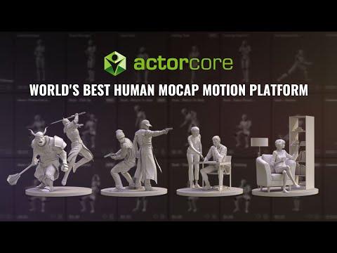 ActorCore - World's Best Human Mocap Motion Platform   Inspire Your Next Move!